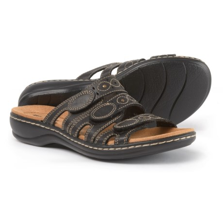Clarks Leisa Cacti Q Sandals - Leather (For Women)
