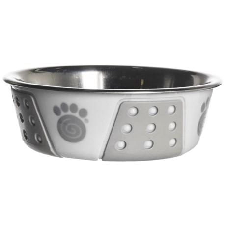 PetRageous Fiji Pet Bowl - Stainless Steel