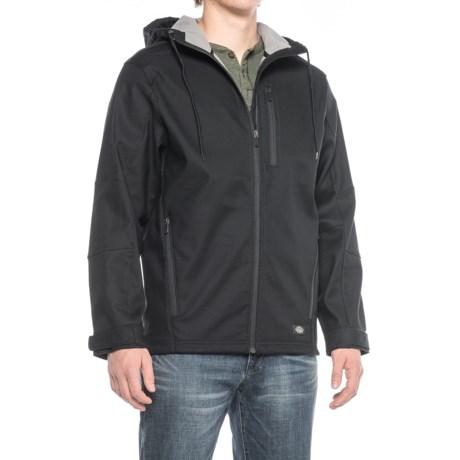 Dickies Flex Performance Bonded Canvas Hooded Jacket - Full Zip (For Men)