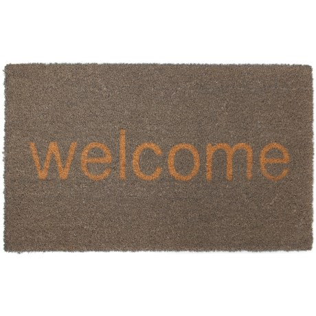 Madison Home Welcome Coir Doormat - 20x34""