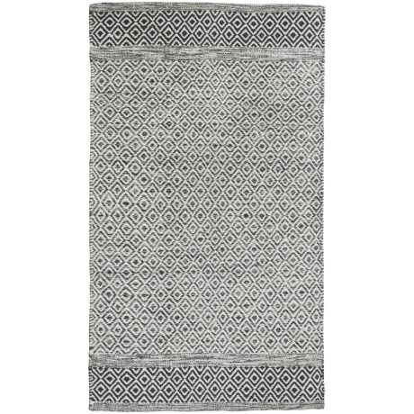 Element Diamond Jacquard Rug - 27x45""