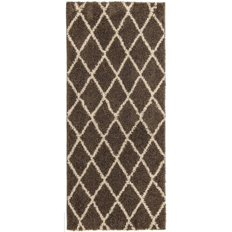 Madison Home Iconic Home Patterned Shag Rug - 22x54""