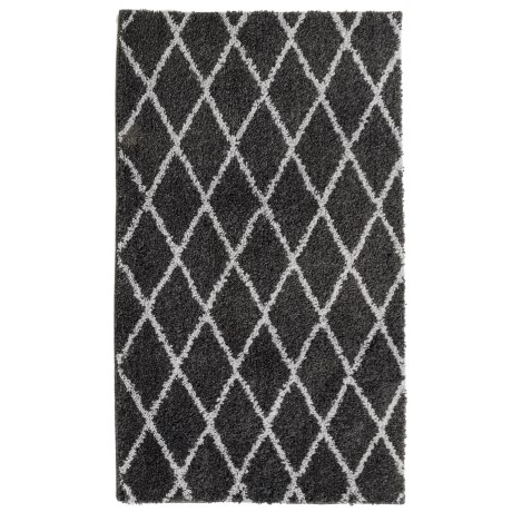 Madison Home Iconic Home Patterned Shag Rug - 27x45""