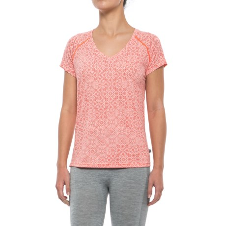 Helly Hansen Active Flow Base Layer Top - UPF 50, Short Sleeve (For Women)
