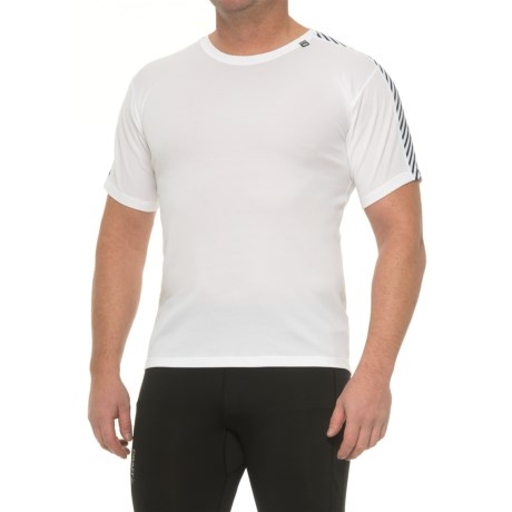 Helly Hansen Dry Stripe Base Layer Top - Short Sleeve (For Men)