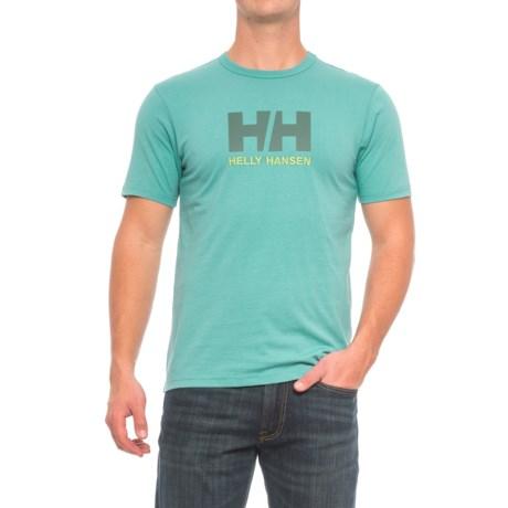 Helly Hansen Logo T-Shirt - Short Sleeve (For Men)