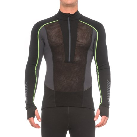 Helly Hansen Warm Flow Ullr Base Layer Top - Zip Neck, Long Sleeve (For Men)