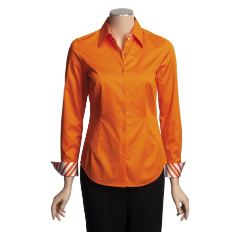 Audrey Talbott Aly Shirt - Stretch Cotton, Long Sleeve (For Women)