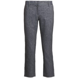 Audrey Talbott Hapri Crosshatch Ankle Pants - Cotton-Linen (For Women)