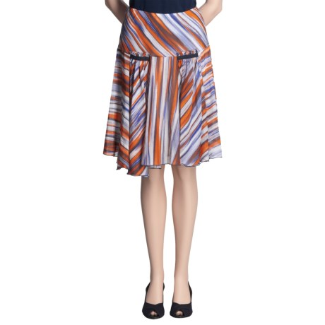 Audrey Talbott Lindsy Skirt - Cotton-Silk (For Women)