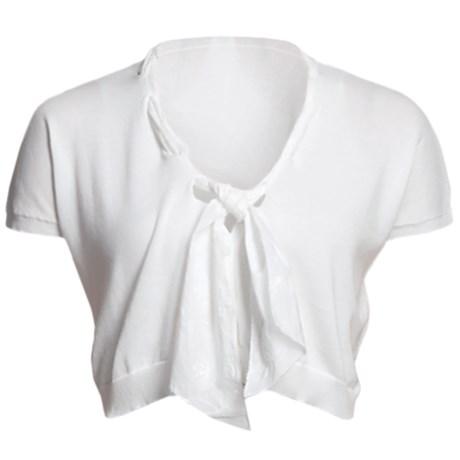 Audrey Talbott Mildred Scarf Shrug - Cotton (For Women)