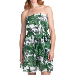 Audrey Talbott Itsy Convertible Dress with Sash - Cotton (For Women)