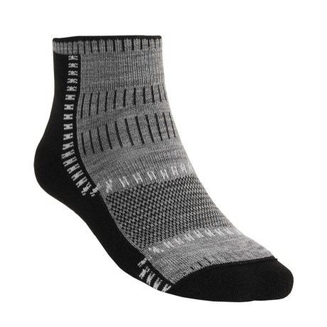 Wigwam Trail Trax Pro Socks - Merino Wool, Quarter Crew (For Men and Women)