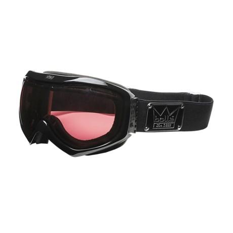Bolle Quasar Ski Goggles - Vermilion Lens