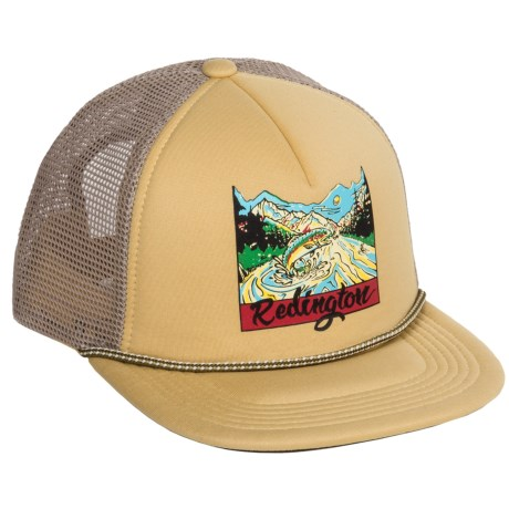 Redington Old School Trucker Hat (For Men)
