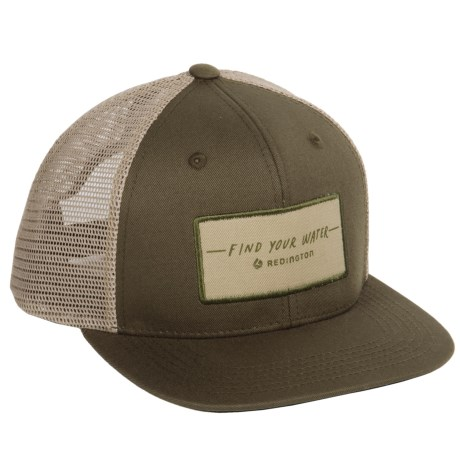 Redington FYW Script Trucker Hat (For Men)