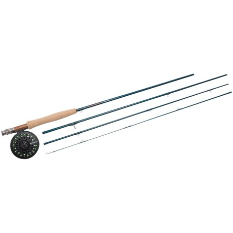 Redington Crosswater Rod and Reel Outfit - 4-Piece