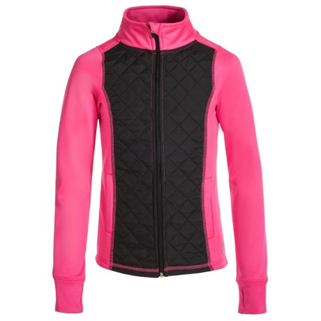 RBX Woven Front Fleece Jacket (For Little and Big Girls)