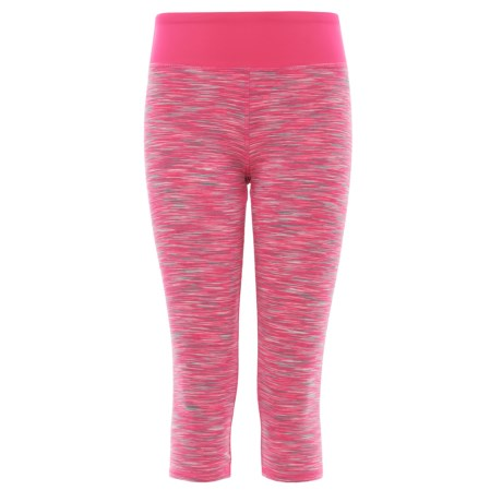RBX High-Performance Space-Dye Capri Leggings (For Little and Big Girls)