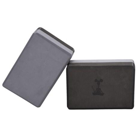 YogaRat Foam Yoga Blocks - 2-Pack