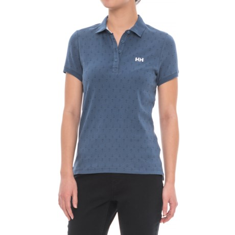 Helly Hansen Naiad Breeze Polo Shirt - Short Sleeve (For Women)
