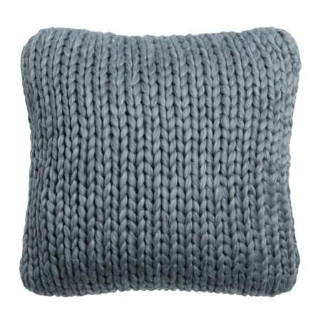 """Nicole Miller Himalaya Knit Decor Pillow - 20x20"""""""