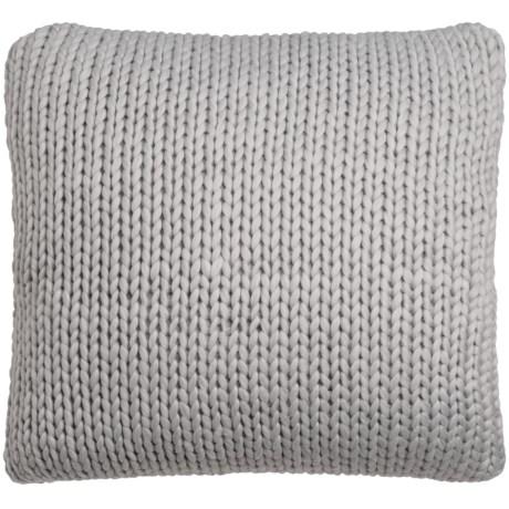 """Nicole Miller Himalaya Knit Decor Pillow - 26x26"""""""