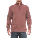 Specially made Zip Neck Solid Sweatshirt (For Men)