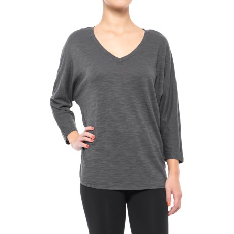 Specially made V-Neck Dolman Shirt - 3/4 Sleeve (For Women)
