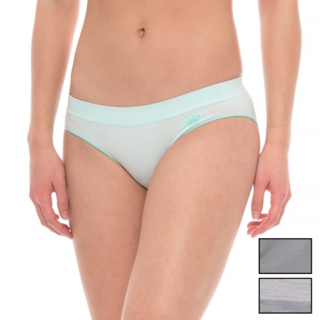 New Balance Seamless Space-Dye Panties - Hipster, 3-Pack (For Women)