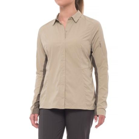 Sierra Designs Solar Wind Shirt - UPF 35, Long Sleeve (For Women)