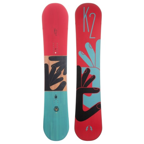 K2 Fastplant Grom Snowboard (For Little and Big Kids)