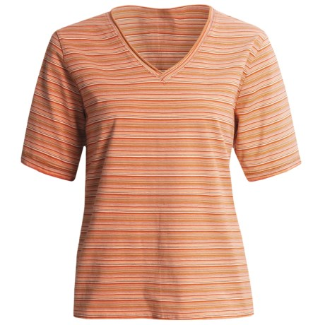 Woolrich Hollyhock T-Shirt - Short Sleeve (For Women)