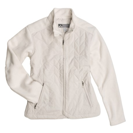 Storm Creek Issie Quilted Fashion Jacket - Fleece (For Women)