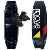 CWB Board Co. Kink Wakeboard - Vapor Bindings