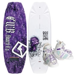 Connelly CWB Board Co. Lotus Wakeboard - Sage Bindings (For Women)