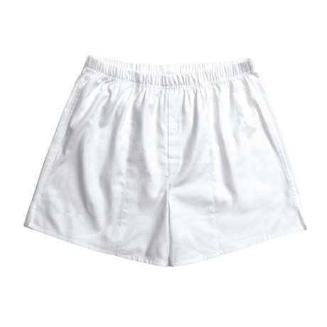 Hanro Fishbone Boxer Shorts (For Men)