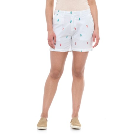Fresh Anchor Icon Shorts (For Women)