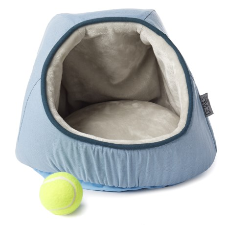 Details Solid Canvas Dome Pet Bed - 14x14x12""