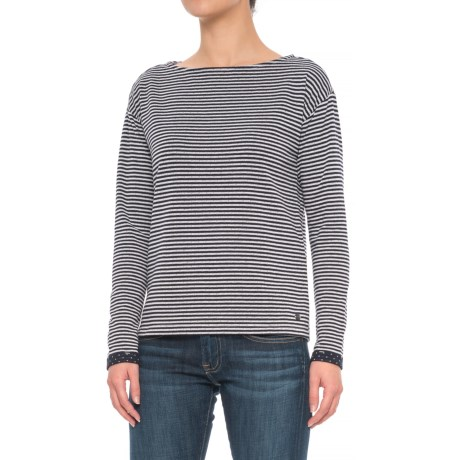 Specially made Boat Neck Shirt - Long Sleeve (For Women)