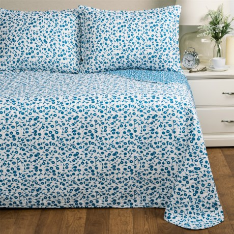 Melange Home Poppy Quilt Set - Twin