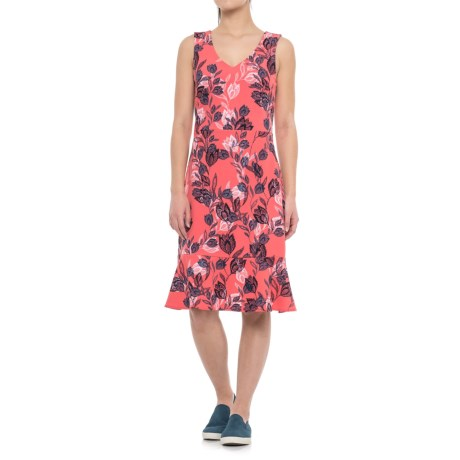 Specially made Printed A-Line Dress - Sleeveless (For Women)