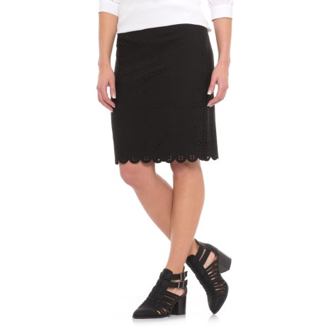 Specially made Straight Laser-Cut Pencil Skirt (For Women)