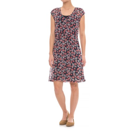 Specially made Layered Print Dress - Short Sleeve (For Women)