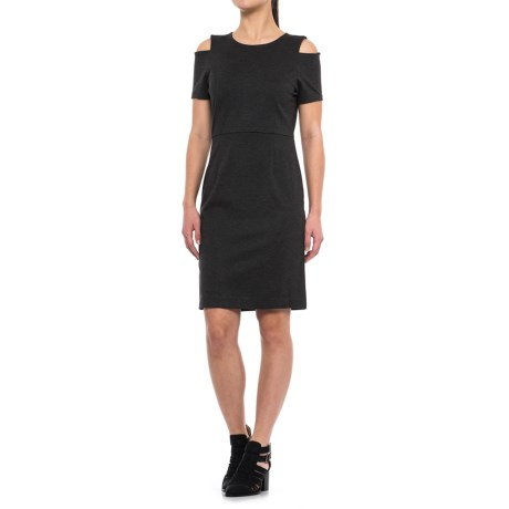 Specially made Cold-Shoulder Dress - Short Sleeve (For Women)