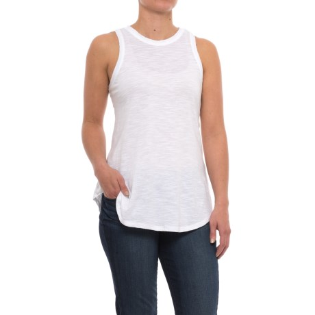 Specially made Slub-Knit Cotton Tank Top (For Women)