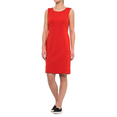 Specially made Solid Dress - Sleeveless (For Women)