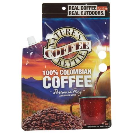 Nature's Coffee Kettle Columbian Arabica Coffee - 4-Cup