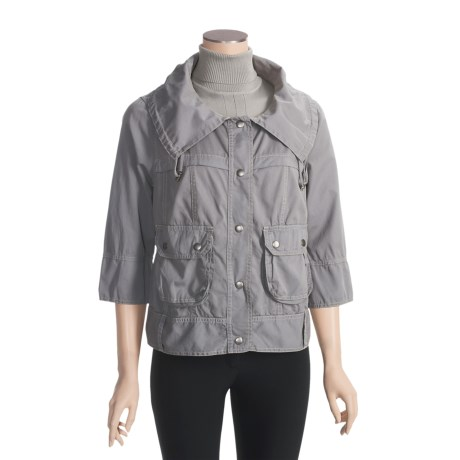 True Grit Prairie Jacket - Chino Cotton, 3/4 Sleeve (For Women)
