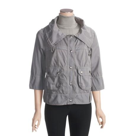 True Grit Prairie Jacket - Chino Cotton, 3/4 Sleeve (For Women)